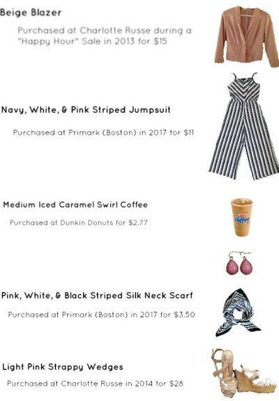 Striped Jumpsuit Look For Spring