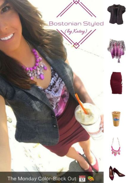 Blazer and Pencil Skirt Look